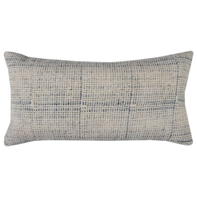 Pacheco Cotton Pillow Color: Blue