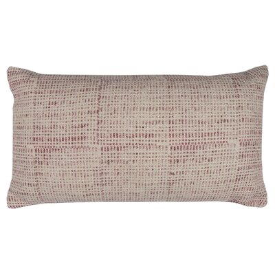 Pacheco Cotton Pillow Color: Red