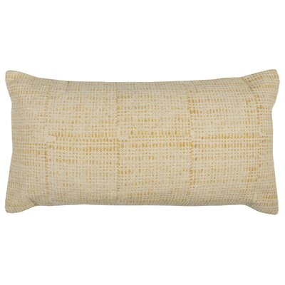 Pacheco Cotton Pillow Color: Yellow