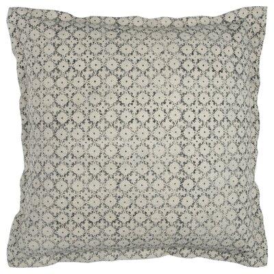 Pavo Cotton Pillow Cover Color: Black