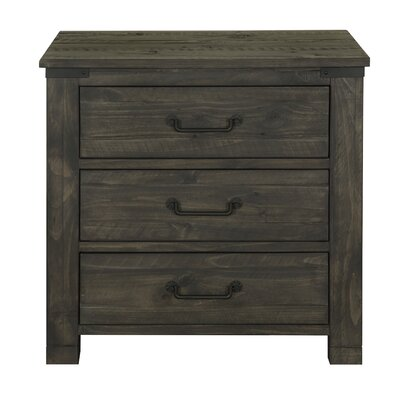 Emerado 3 Drawer Nightstand