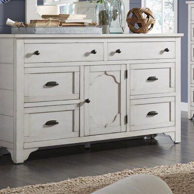 Aurora 6 Drawer Standard Dresser