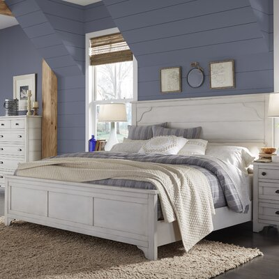 Aurora Panel Bed Size: King