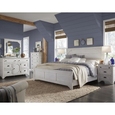 Aurora Panel Customizable Bedroom Set