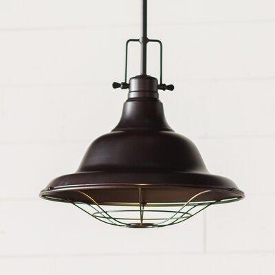 Hampton 1-Light Pendant Finish: Oil Rubbed Bronze