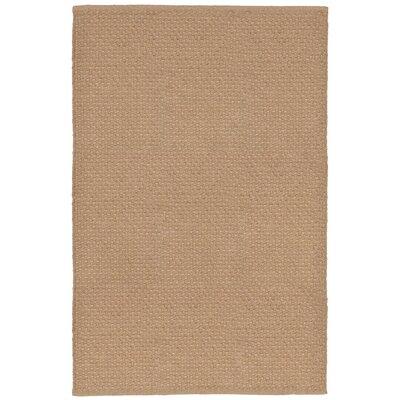 Havana Texture Hand-Woven Camel Indoor/Outdoor Area Rug Rug Size: 36 x 56