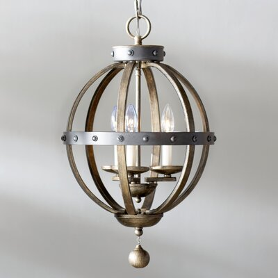 Wilburton 3-Light Foyer Pendant