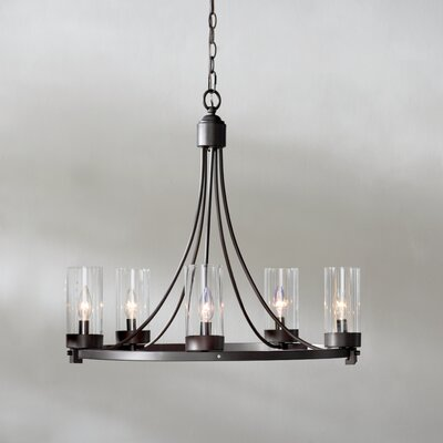 Agave 5-Light Candle-Style Chandelier Finish: Oil Rubbed Bronze