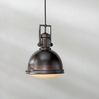 Hamilton 1-Light Dome Pendant