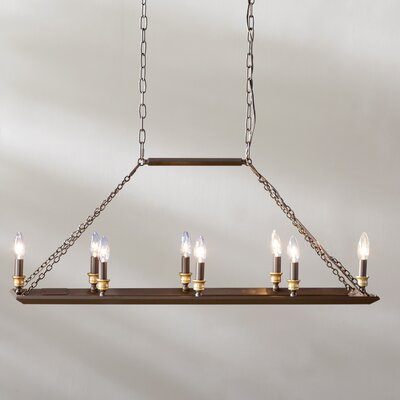 Ethyl 8-Light Kitchen Island Pendant