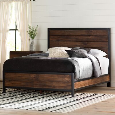 Jaiden Panel Bed Size: California King