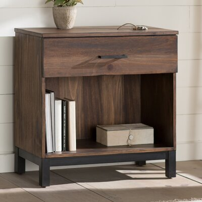 Jaiden 1 Drawer Nightstand