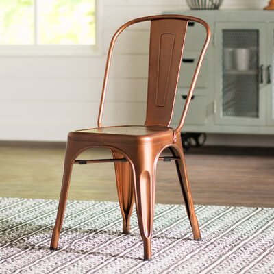 Airelle Side Chair Finish: Bronze