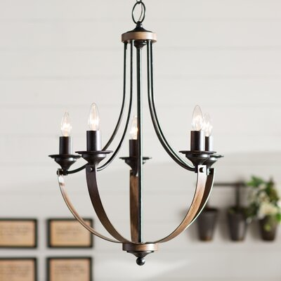 Kenna 5-Light Mini Candle-Style Chandelier
