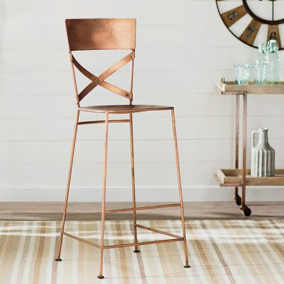 Oreana 30 Bar Stool Finish: Copper