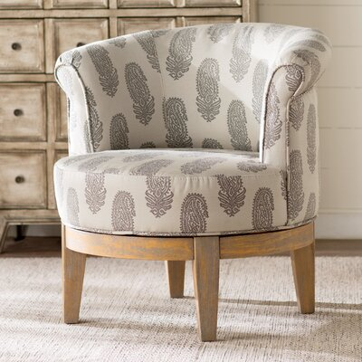 Haywood Swivel Barrel Chair
