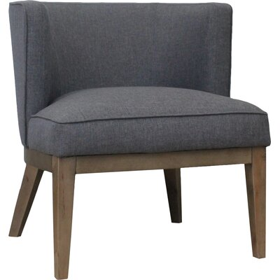 Barrel Chair Barnard Color: Slate Gray