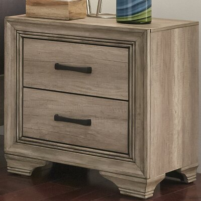 Payne 2 Drawer Nightstand