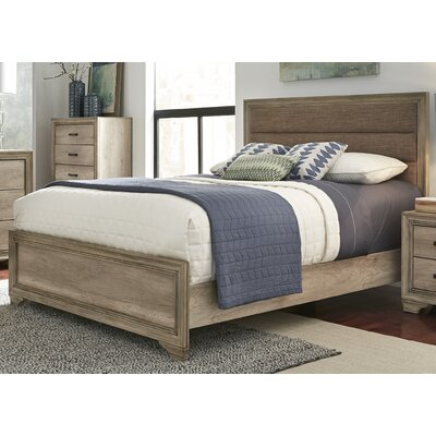 Payne Upholstered Platform Bed Size: Queen
