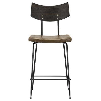 Christopher Bar Stool Upholstery: Caramel