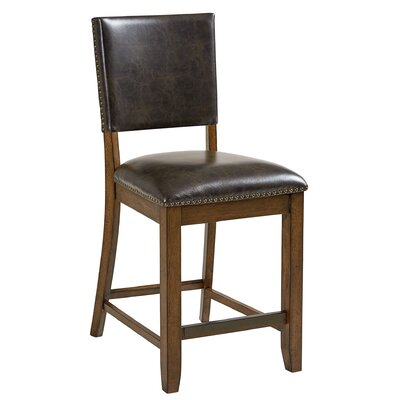 Agusta Genuine Leather Upholstered Dining Chair (Set of 2)