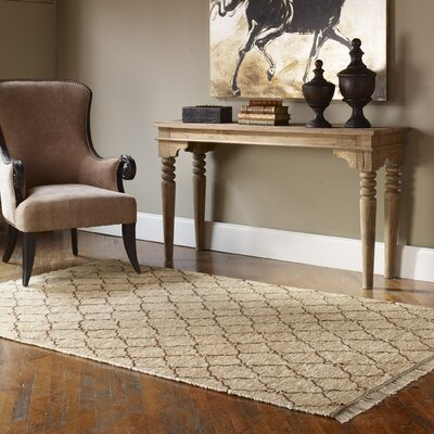 Bayonne Hand-Loomed Natural Jute Area Rug Rug Size: Rectangle 8 x 10