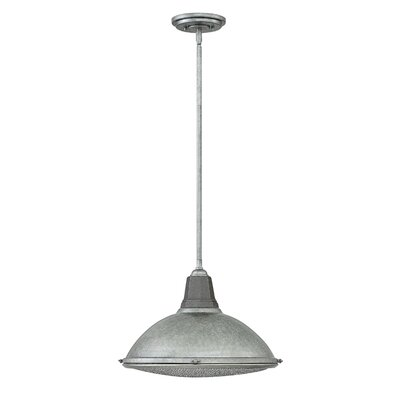 Henley 1-Light Mini Pendant Finish: Galvanized