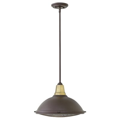 Henley 1-Light Mini Pendant Finish: Buckeye Bronze