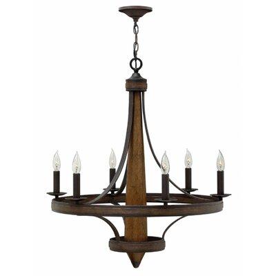 Henrietta 6-Light Candle-Style Chandelier