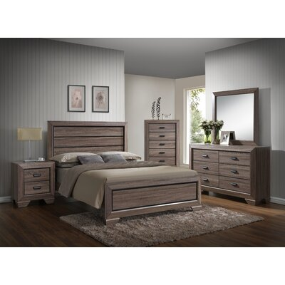 Carnegie Platform Bed Size: Queen