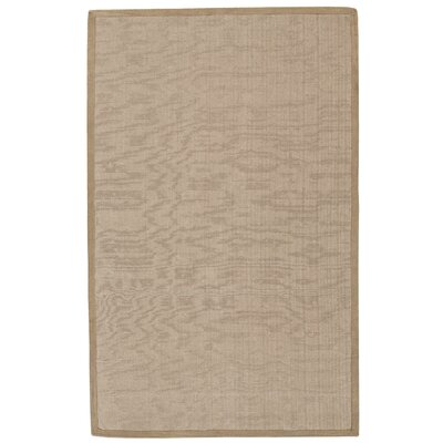 Chadbury Hand-Woven Natural Indoor/Outdoor Area Rug Rug Size: 5 x 8