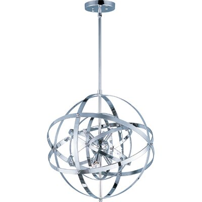 Hambrick 6-Light Pendant Finish: Polished Chrome
