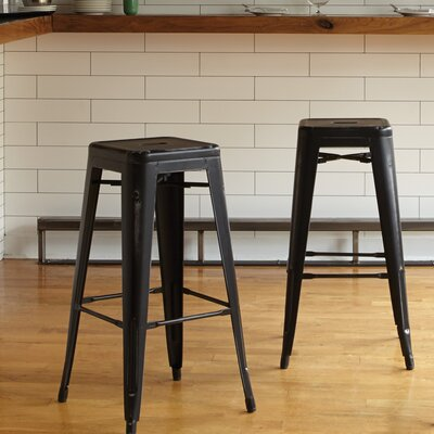 Isabel 30 Bar Stool Finish: Antique Black
