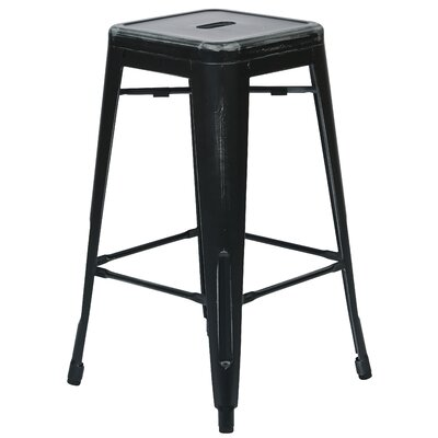 Isabel 26 Bar Stool Finish: Antique Black