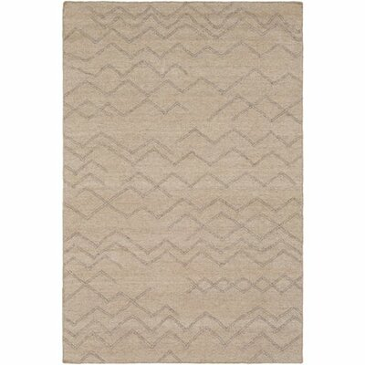 Morton Hand-Woven Tan/Taupe Area Rug Rug Size: Rectangle 5 x 76