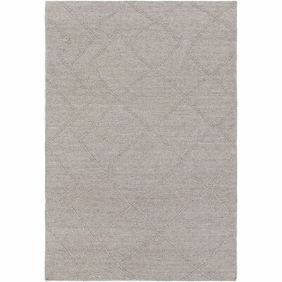 Morton Hand-Woven Camel/Dark Brown Area Rug Rug Size: Rectangle 5 x 76