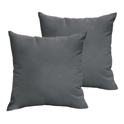 Mackenzie Indoor/ Outdoor Sunbrella Throw Pillow Size: 22 H x 22 W x 6 D