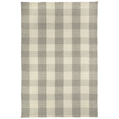 Madeleine Smoke Striped Rug Rug Size: 7 x 9
