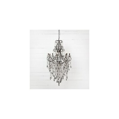 Malcolm 8-Light Crystal Chandelier