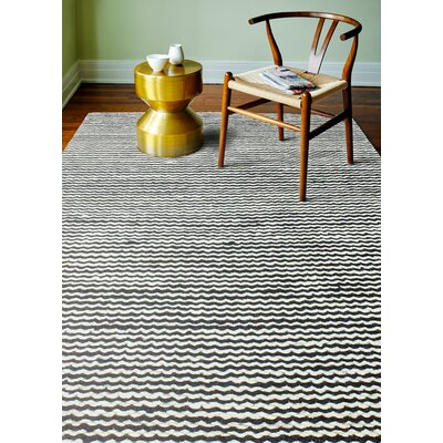 Deaver Charcoal Area Rug Rug Size: 5 x 76