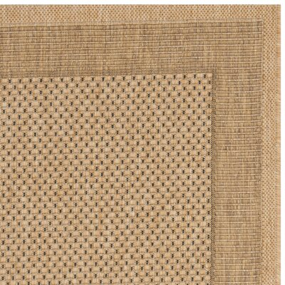Manassas Natural/Gold Indoor/Outdoor Rug Rug Size: Rectangle 67 x 96