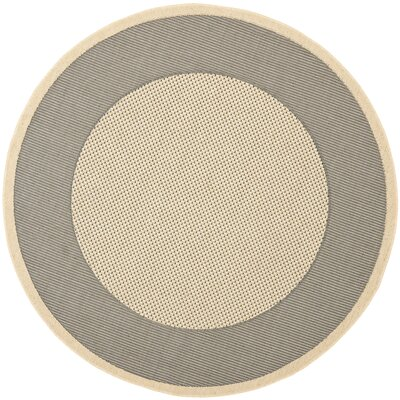 Manassas Grey/Cream Indoor/Outdoor Rug Rug Size: 9 x 126