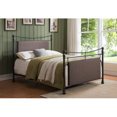 Mathilda Upholstered Panel Bed Size: King
