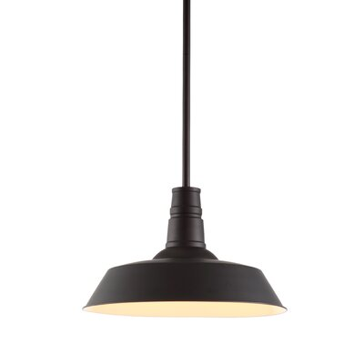 Mattie 1-Light Bowl Pendant