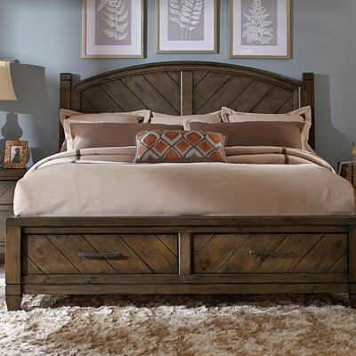 Mazie Storage Panel Bed