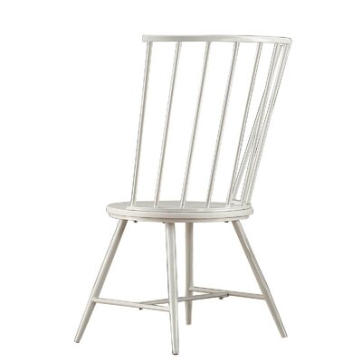 Athis Side Chair Finish: White