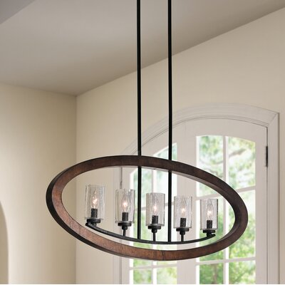 Christenson 5-Light Candle-Style Chandelier
