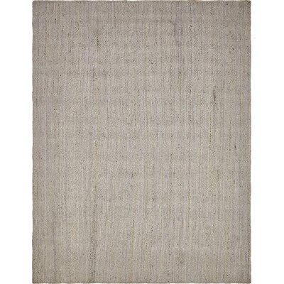 Mckenna Hand-Braided Gray Area Rug Rug Size: Rectangle 8 x 10