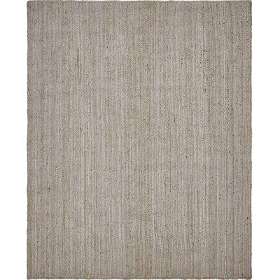 Mckenna Hand-Braided Gray Area Rug Rug Size: 8' x 10'