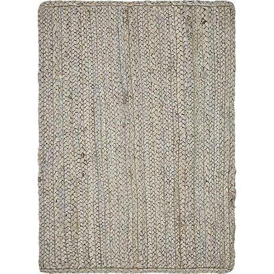 Mckenna Hand-Braided Gray Area Rug Rug Size: 2 x 3